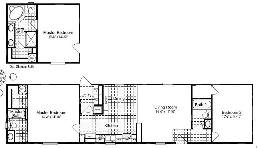 Floor Plans For Site Built Mobile And Modular Homes San
