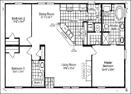 Floor plans for site built mobile and modular homes san for Costa rica house plans