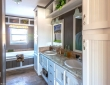 benbrook white cabinets master bathroom home tx