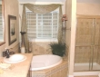 seperate shower tub combos in master baths castroville tx