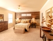 large master and guest bedrooms for country living home tx