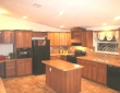 alexandria bonanza kitchen with built in desk office von ormy tx