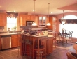 Americana Kitchen With Tiled Island boerne tx