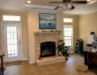gotham home with large rock fireplace fredericksburg tc