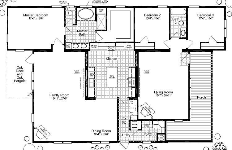 Floor plans for site built mobile and modular homes san for House plans san antonio